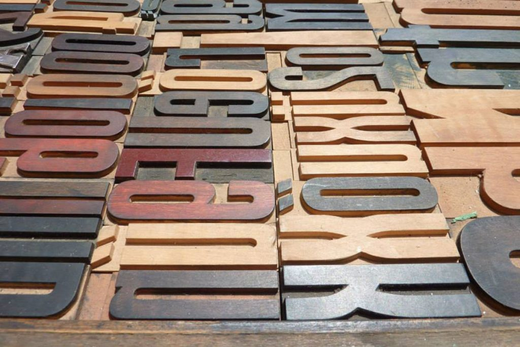 Letterpress Workshop 02