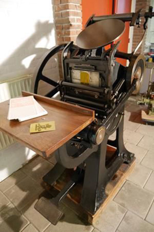 letterpress machine