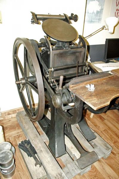 La Triomphante Letterpress Machine 05