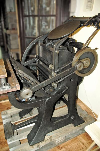 La Triomphante Letterpress Machine 06