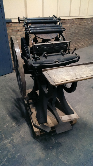 La Triomphante Letterpress Machine 09