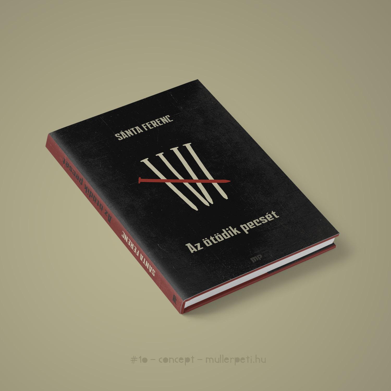 Az ötödik pecsét könyvborító
