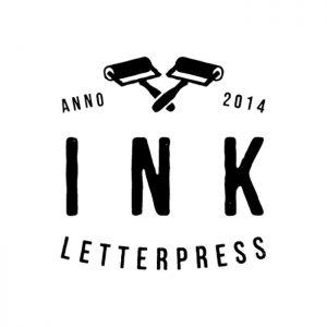 INK Letterpress Arculattervezés