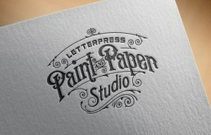 Paint and Paper Arculattervezés