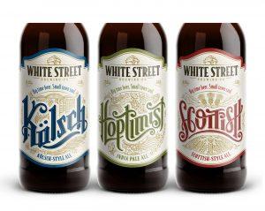 White Street Brewing Co. Arculattervezés