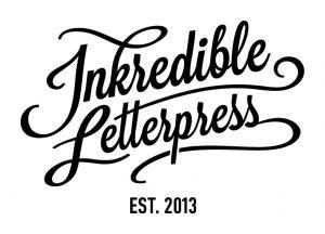 Inkredible Letterpress Arculattervezes