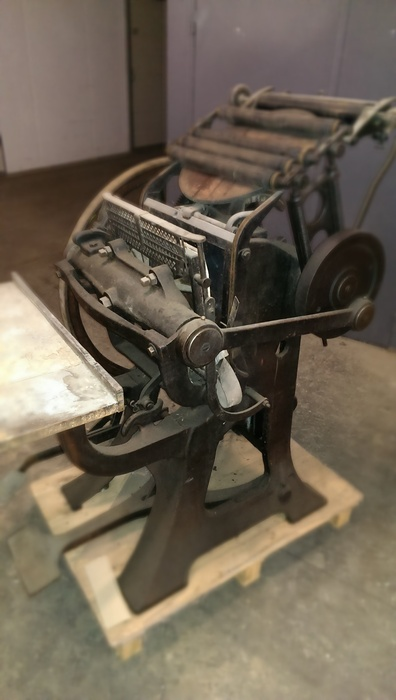 La Triomphante Letterpress Machine 08