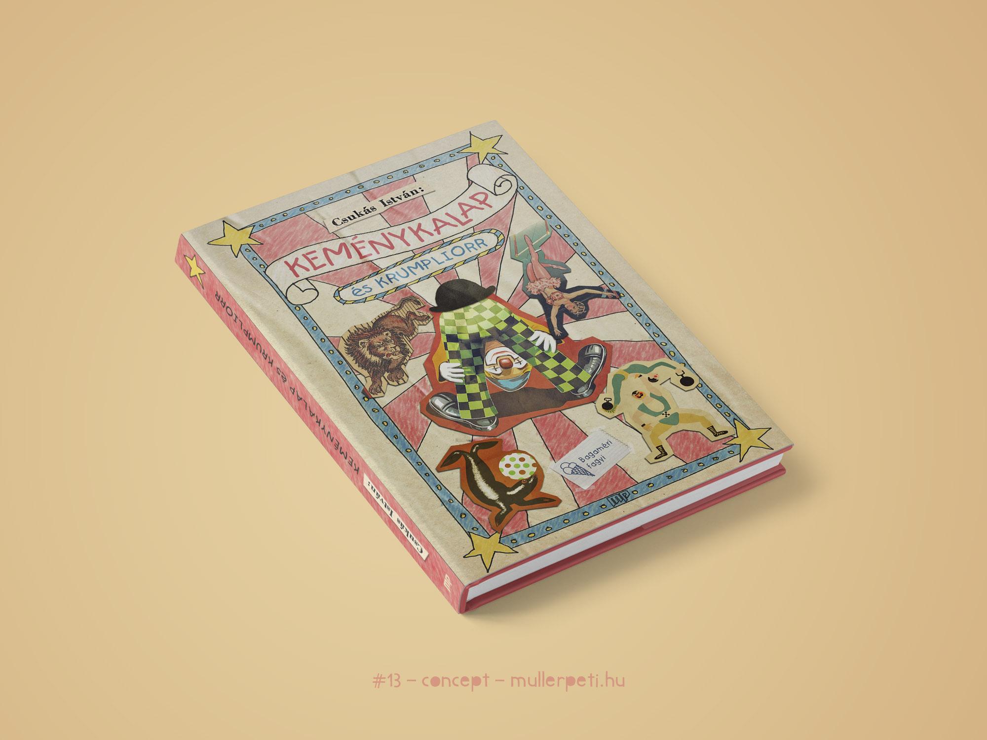 Keménykalap és krumpliorr könyvborító