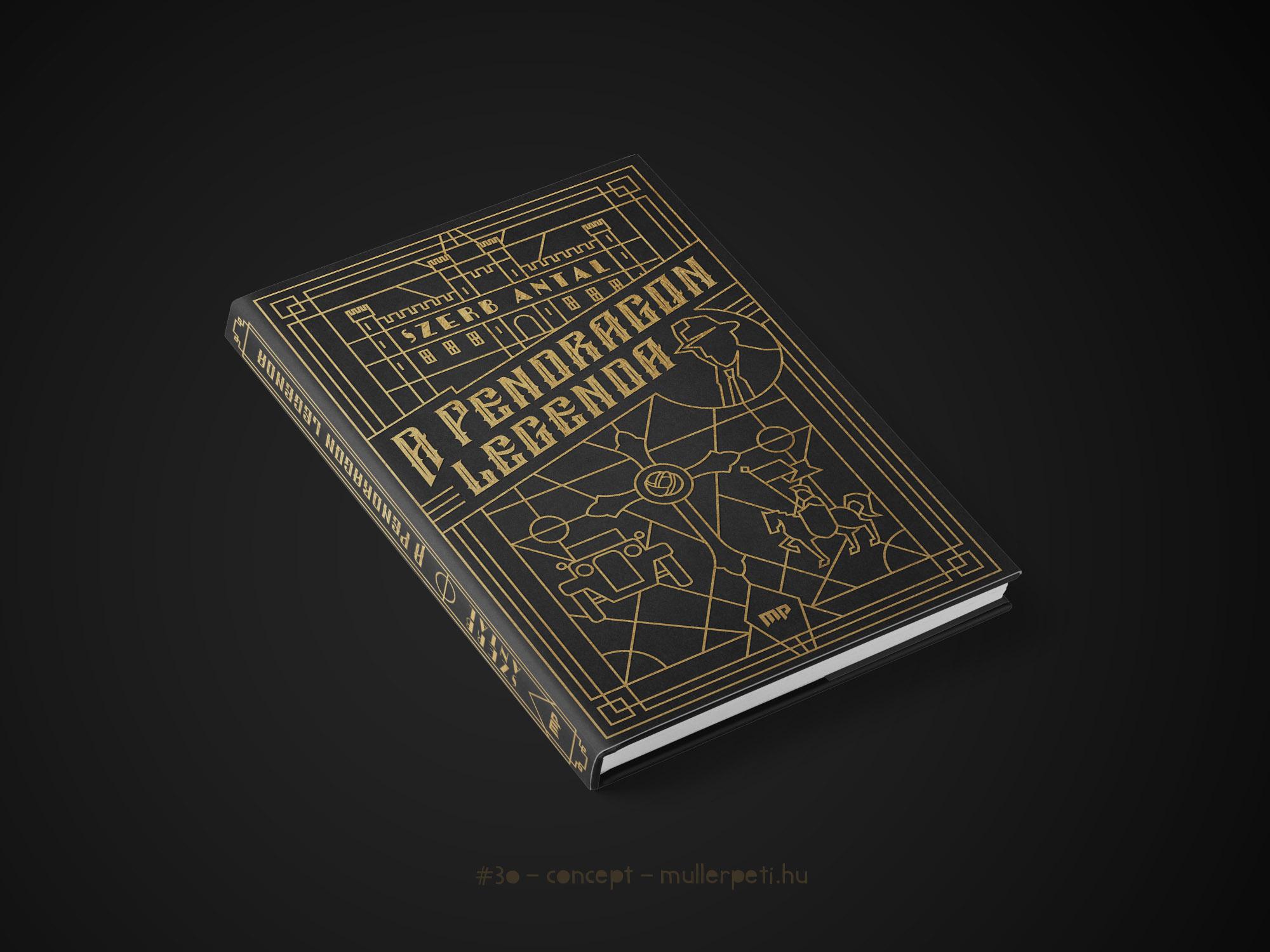 A Pendragon legenda könyvborító
